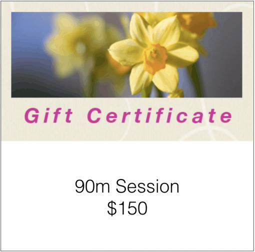 90m Gift Certificate