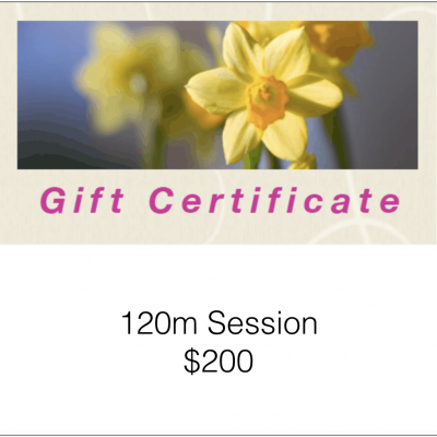 120m Gift Certificate