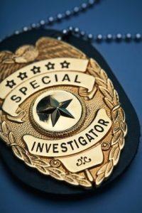 special investigator badge
