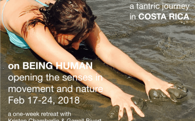 2018 on Being Human:  opening the senses in movement and nature