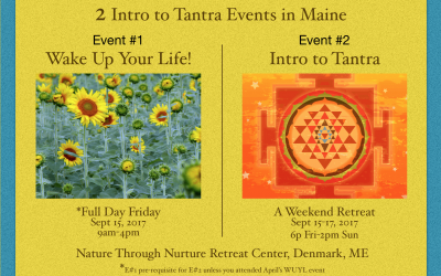 Two Intro to Tantra Events in Maine